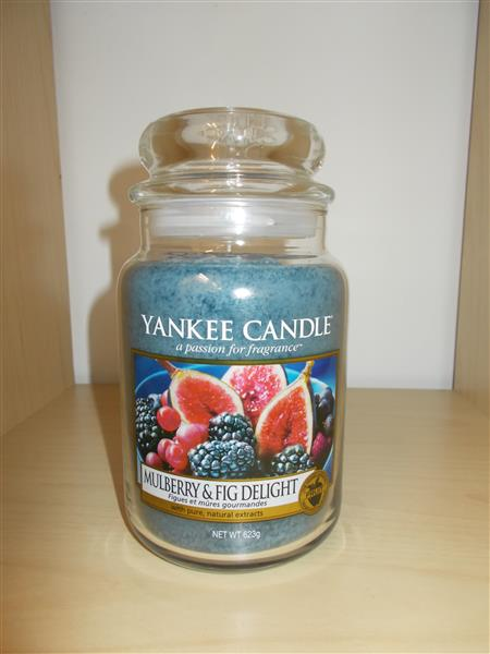 Yankee Candle Jar- Mulberry & Fig Delight