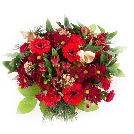 April Bouquets: Christmas Celebration April Flowers Florist Stafford
